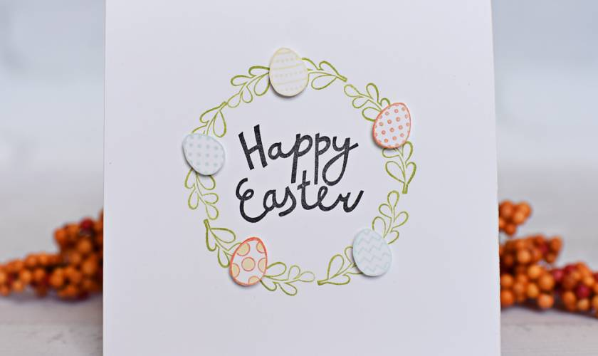 A Muse Studio New Release Easter Wreath