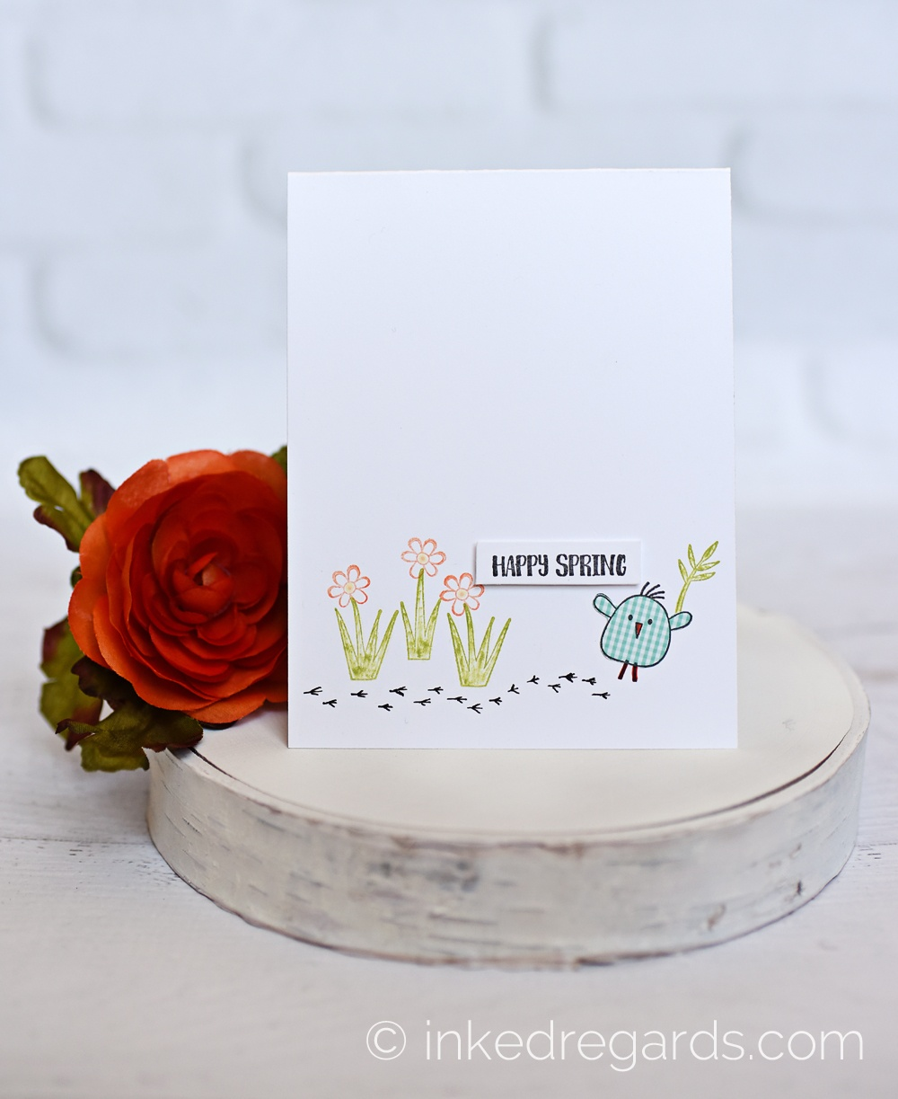 A Muse Studio:  Combining New & Older Stamps!