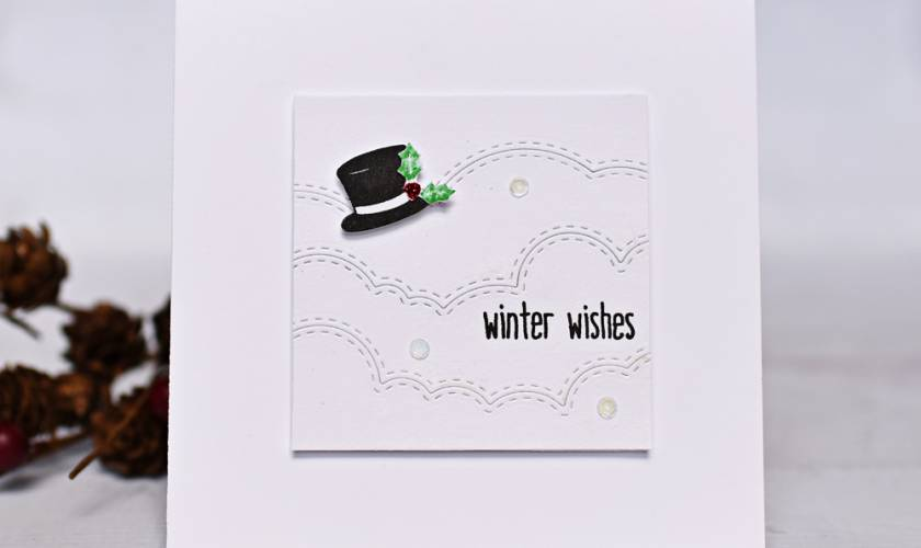 Honey Bee Stamps Winter Wishes