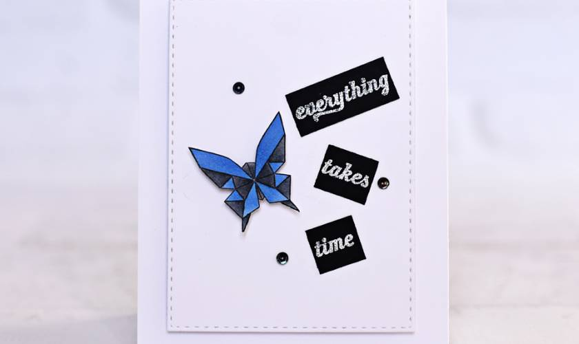 A Blog Named Hero Embossing with Wow!