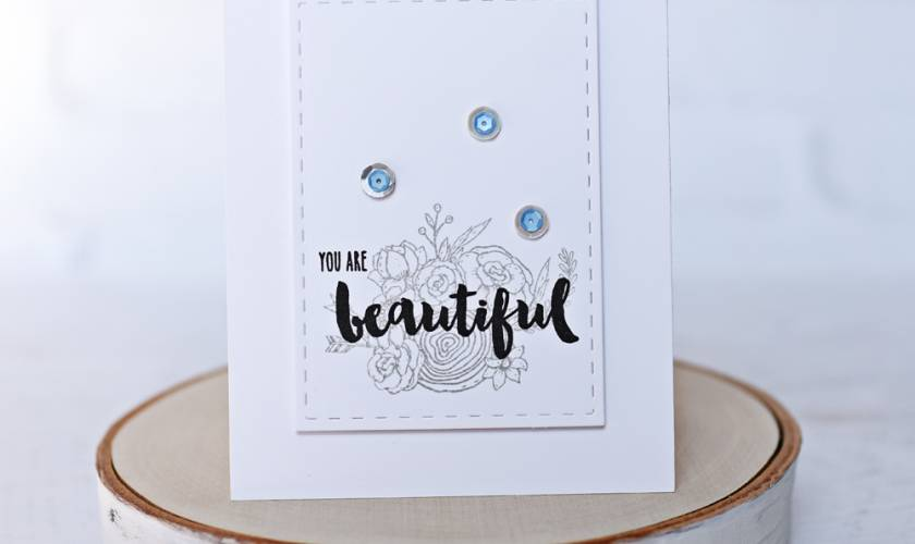 Honey Bee Stamps Clean & Simple Beauty