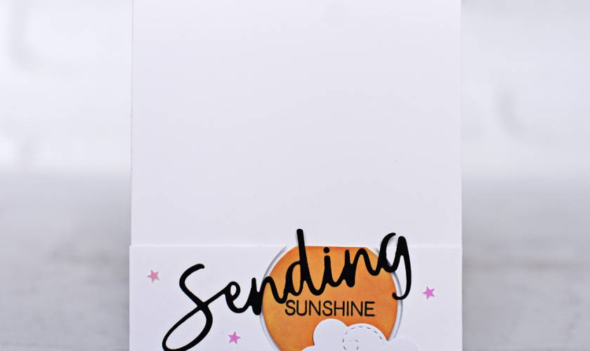 Honey Bee Stamps Sending Sunshine